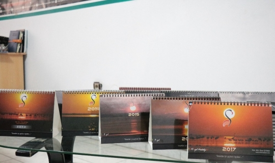 """Seyfe Gölü için takvim hazırlayan Çetiner: """"Tüm fotoğraflarım birbirinden farklı"""""""