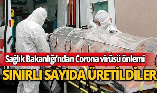 Sınırlı sayıda Corona virüsü için üretildiler!