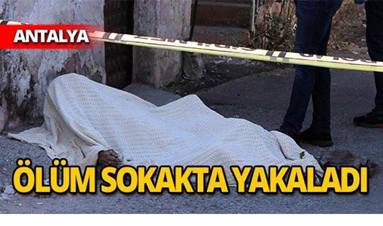 Sokakta ani ölüm!