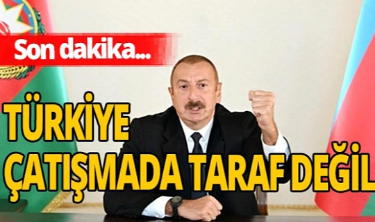 SON DAKİKA! Cumhurbaşkanı Aliyev'den flaş açıklama