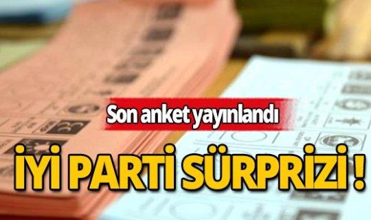 Son anket yayınlandı: 3 parti baraj altında!