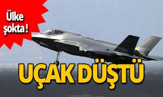 SON DAKİKA! ABD'de F-35 uçağı düştü!
