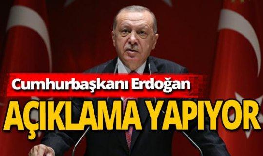 """Son dakika! Cumhurbaşkanı Erdoğan: """"İlk etabın açılışını yapıyoruz"""""""