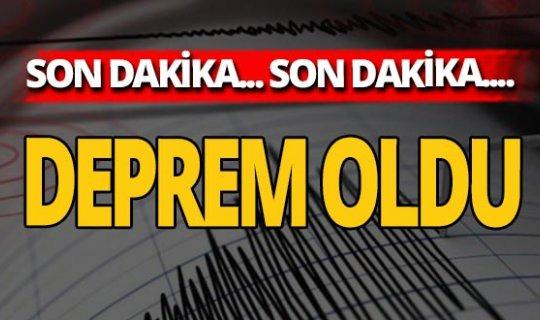 Son dakika: Konya'da deprem oldu