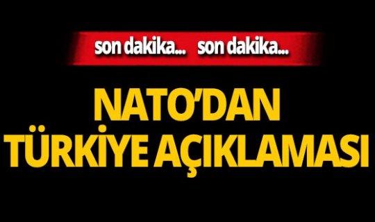 SON DAKİKA! NATO'dan çok önemli Türkiye açıklaması