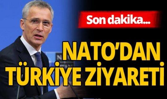 Son dakika! NATO'dan Türkiye ziyareti açıklaması