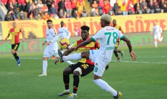 Spor Toto Süper Lig: Göztepe: 3 - Aytemiz Alanyaspor: 2 (Maç sonucu)