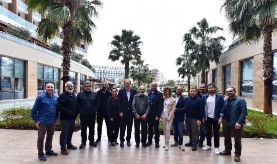 Spor Toto Yılın Basın Fotoğrafları Yarışması jürisi Antalya'da toplandı