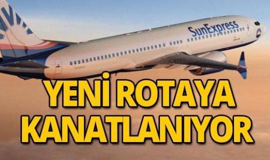 Sunexpress yeni rotasında direkt uçuşlara başlıyor