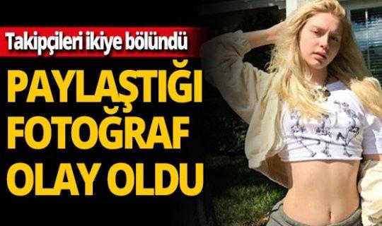 Aleyna Tilki'nin fotoğrafına beğeni yağdı