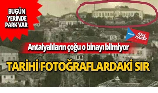 Tarihi fotoğraflardaki sır