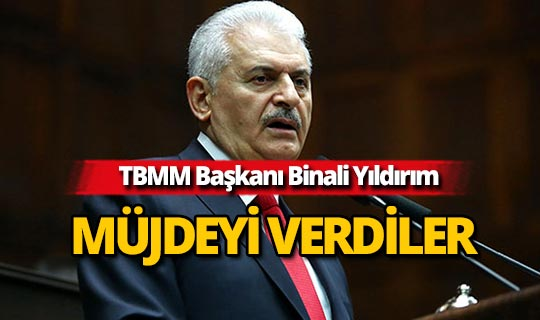 TBMM Başkanı Yıldırım'dan flaş açıklama!