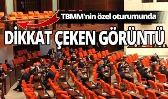 TBMM'nin özel oturumuna sadece tek bir büyükelçi davet edildi