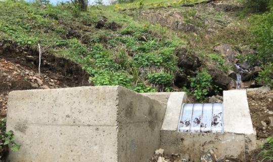 Trabzon'da 'su alma yapıları' modernize çalışmalarının maliyeti 3 milyon TL'ye ulaştı