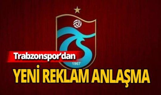 Trabzonspor'dan 10 milyonluk reklam anlaşması