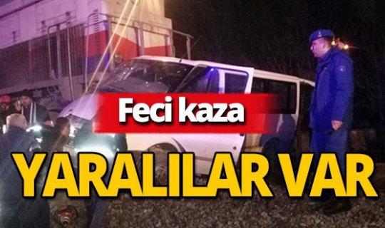 Tren kazası: Yaralılar var!