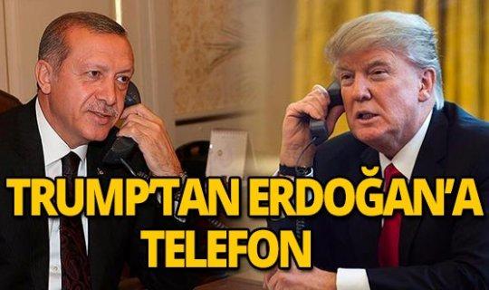 Trump, Erdoğan'la görüştü