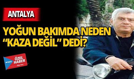 Turgay Alp ölümden döndü!