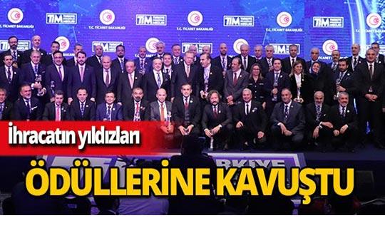 Türkiye'nin 500 Büyük Hizmet İhracatçısı ödülleri sahiplerini buldu