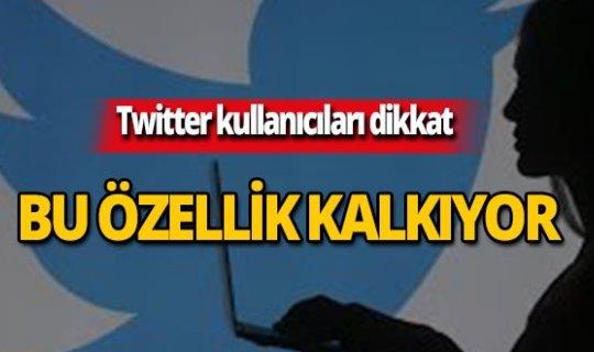 Twitter kullanıcıları dikkat! Bu haber sizi ilgilendiriyor