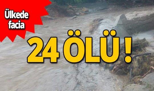 Ülkede facia: 24 ölü!
