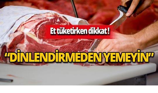 Uzmanlar uyardı! Kırmızı et tüketirken dikkat