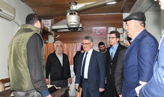 Vali Aykut Pekmez'den Tut İlçesine ziyaret