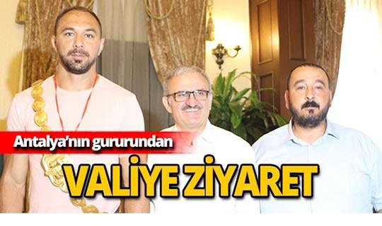 Vali Karaloğlu: Ali Gürbüz göğsümüzü kabarttı