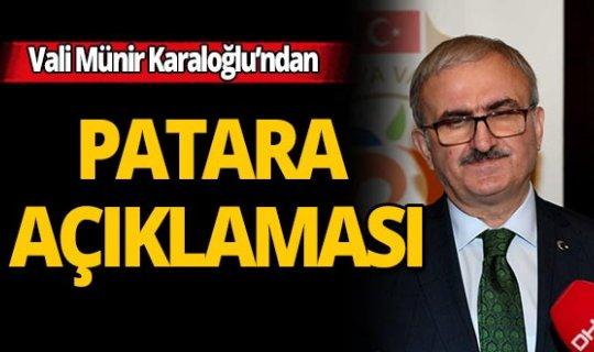 """Vali Karaloğlu: """"Patara  2020'nin temasını hak edecek değerde bir yer"""""""
