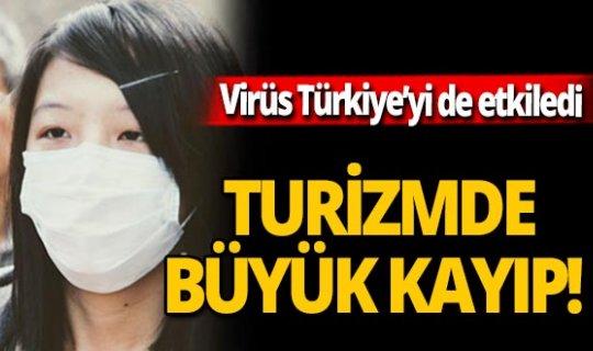 Virüs, turizmi de etkiledi