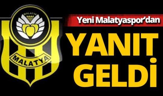 """Yeni Malatyaspor Kulübü'nden """"seyirci"""" açıklaması"""