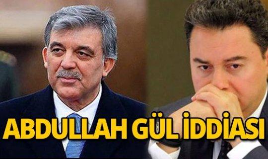 Yeni partinin ertelenmesi Babacan'ı kızdırınca, devreye Abdullah Gül girdi