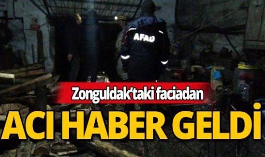 Zonguldak'taki faciadan acı haber geldi!