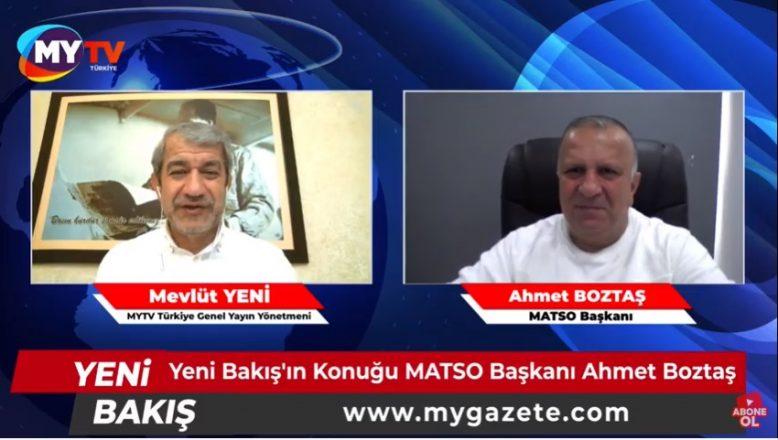 MATSO Başkanı Ahmet Boztaş açıkladı! 20 yıllık hayal gerçek oldu