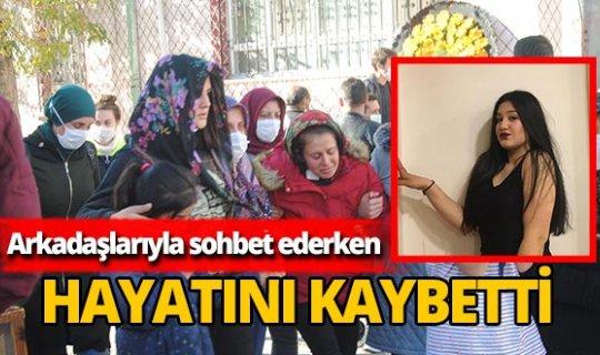 15 yaşındaki Fatmanur Yücel'in arkadaşlarıyla sohbet ederken kalbi durdu!
