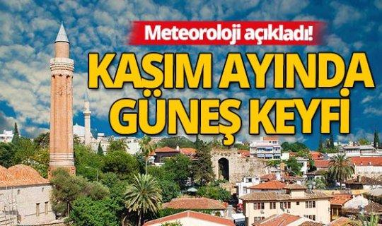 17 Kasım 2020 Antalya'da hava durumu!