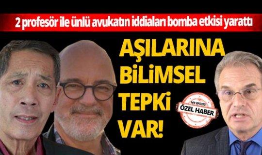 2 profesör ile ünlü avukatın iddiaları bomba etkisi yarattı