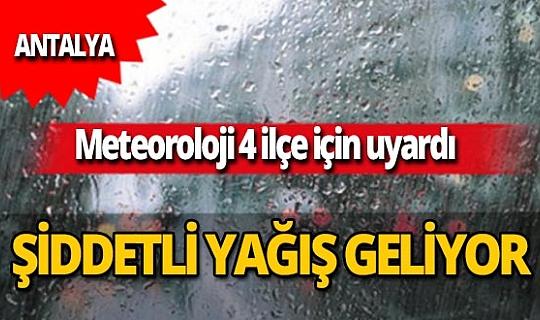30 Ekim 2020 Antalya'da bugün hava nasıl olacak?