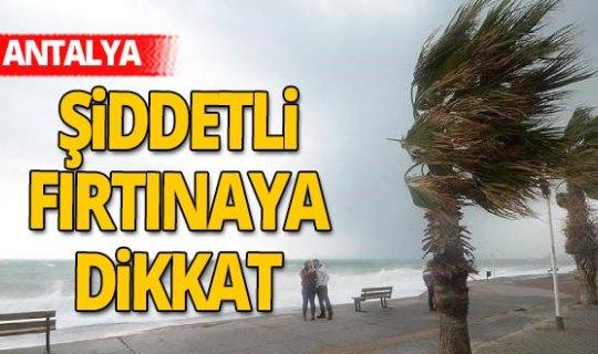 5 Kasım 2020 Antalya'da hava durumu