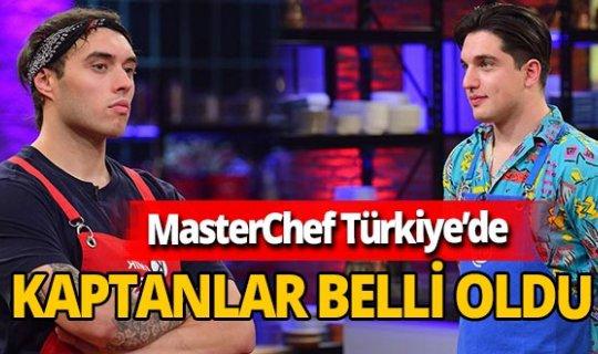 7 Aralık 2020 MasterChef Türkiye'de haftanın takım kaptanları belli oldu