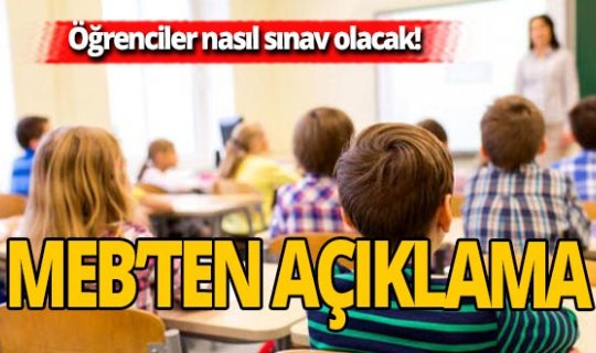81 il müdürlüğüne gönderilenkararla okullardaki sınav sürecini belirlendi