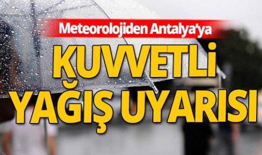 8 Aralık 2020 Salı Antalya'da hava durumu
