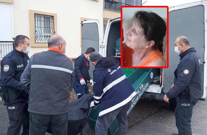 Alman kadın yatağında ölü bulundu