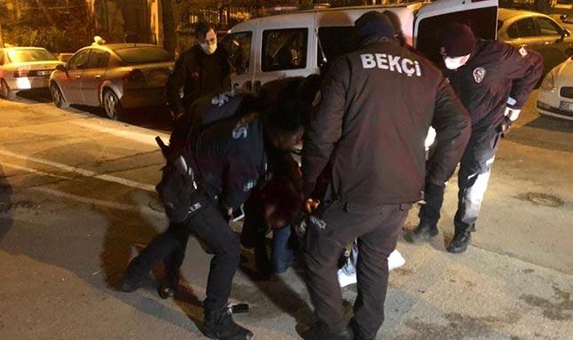 Ankara'da sokağa çıkma kısıtlamasını ihlal eden alkollü sürücü yakalandı