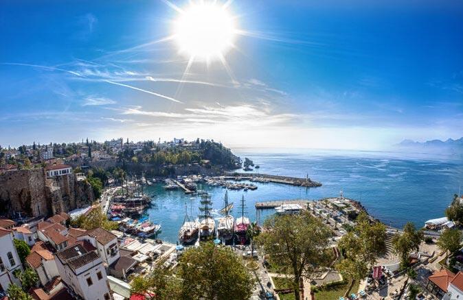Antalya gezilecek yerler!