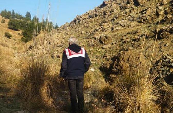 Gaziantep'te derede erkek cesedi bulundu