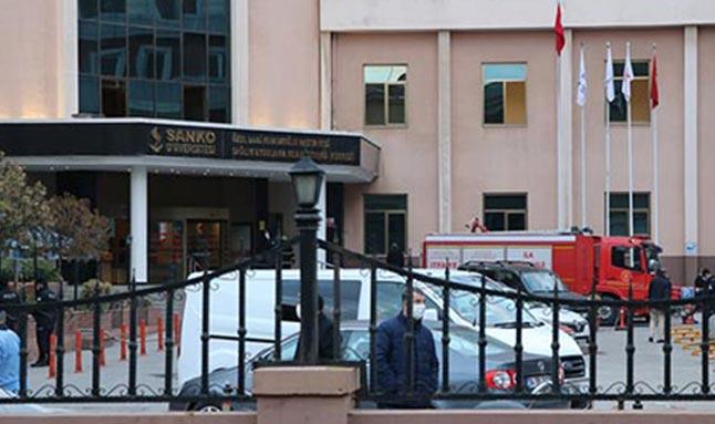 Gaziantep'te hastanede oksijen tüpü patladı