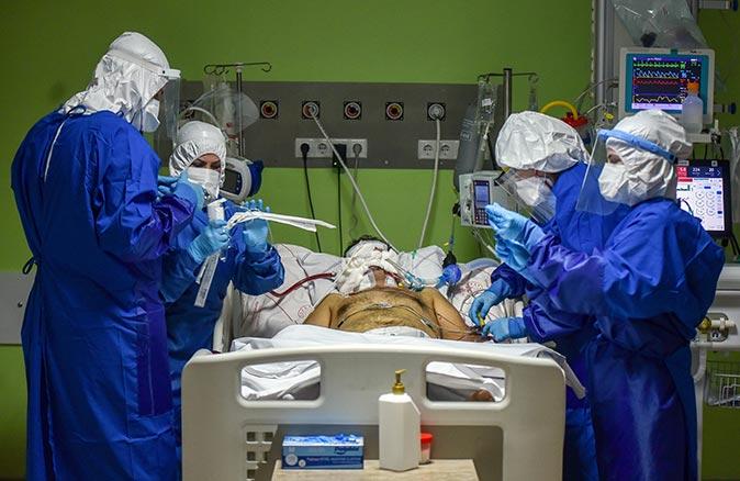 Koronavirüs hastaları ölüm korkusu yaşıyor