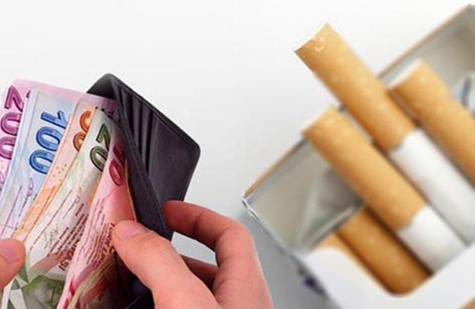 Sigara'da vergi oranları değişti