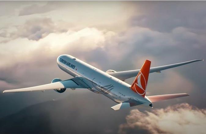 Türk Hava Yolları,İngiltere'ye tahliye seferi düzenledi